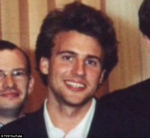 A young Macron. Photo Courtesy: Daily Mail