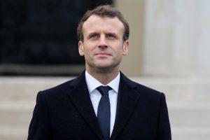 French President Emmanuel Macron  Photo Courtesy: Ludovic MARIN
