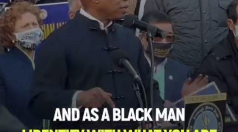 Eric L. Adams Rallies Against Hate Crimes
